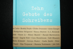 of writing - des Schreibens