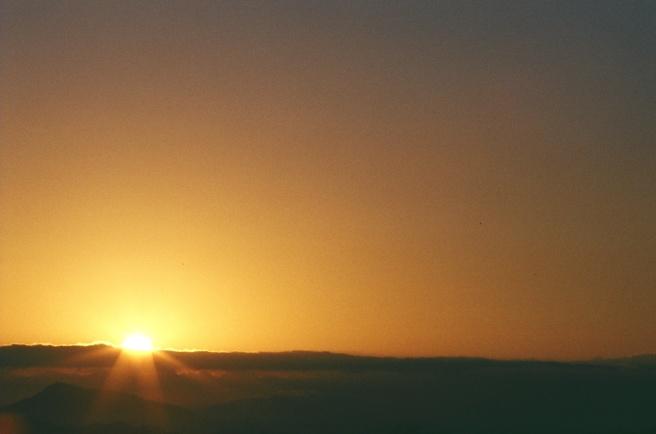 Sunrise - Tanzania