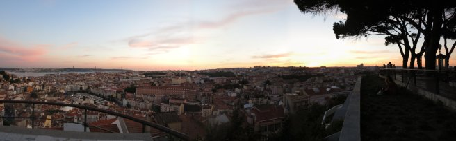 Lisboa Panorama Sunset