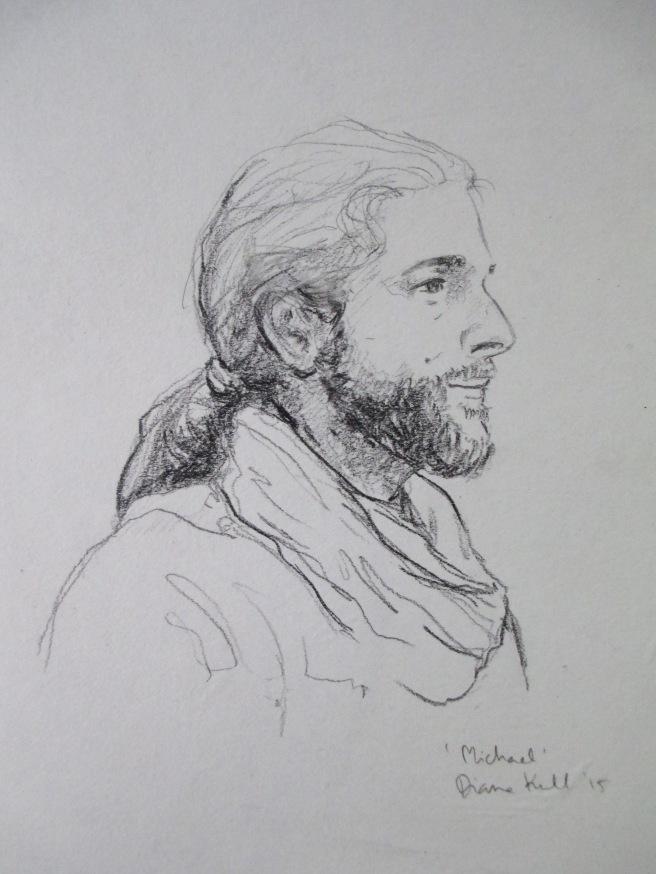 Michael Portrait Diana Kull Pencil IMG_7964